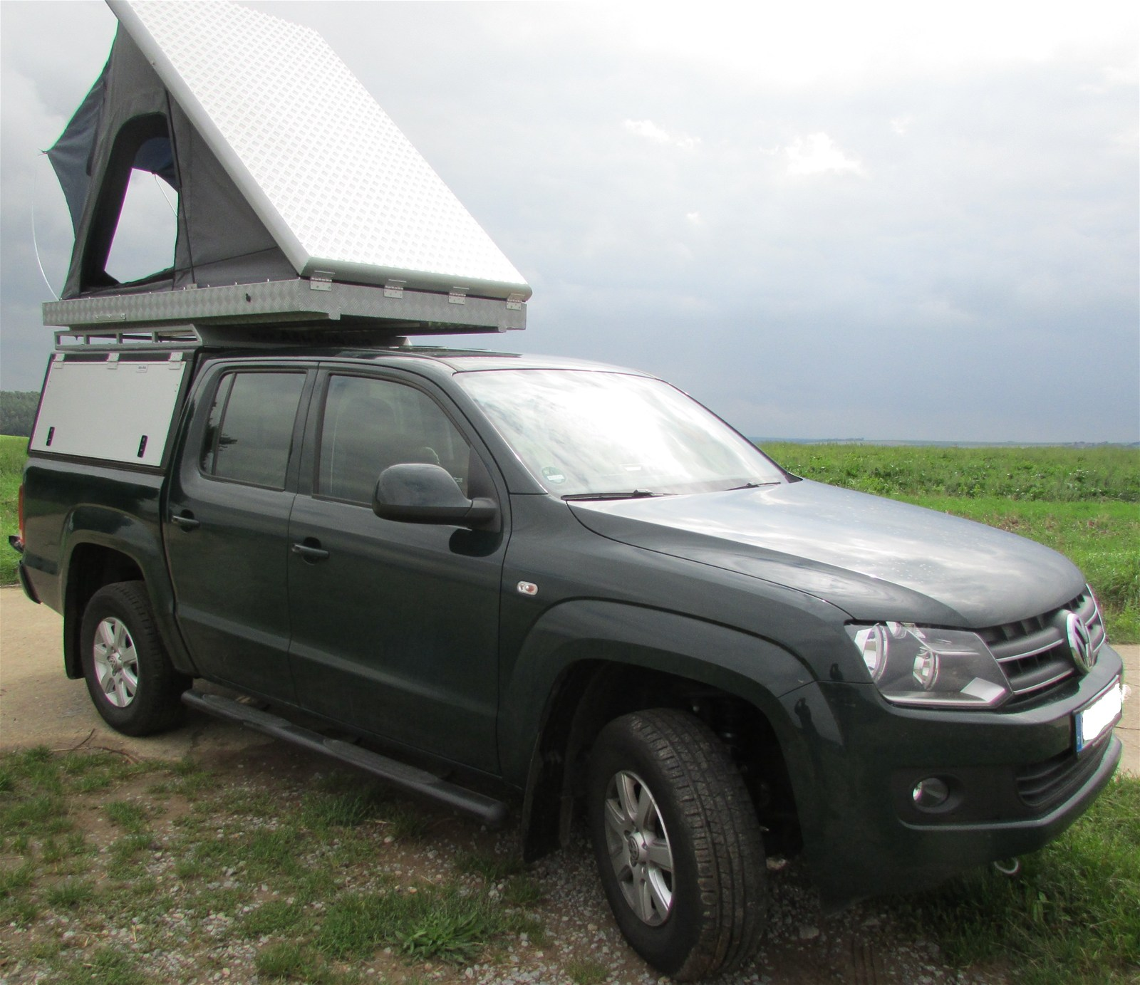 alu cab hardtop double cab vw amarok 560 mm h he online. Black Bedroom Furniture Sets. Home Design Ideas